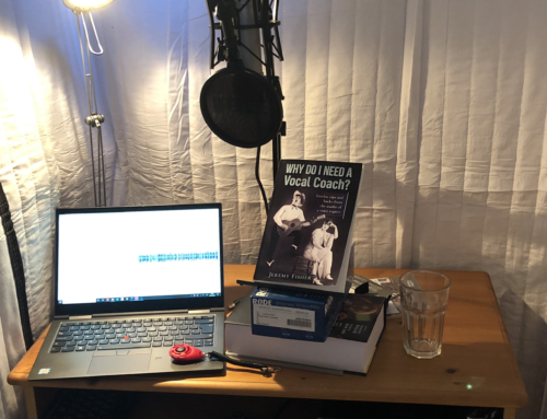 Why Do I Need A Vocal Coach? The audiobook voiceover – a sneaky peek