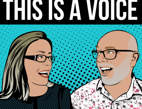 This Is A Voice – our new podcast