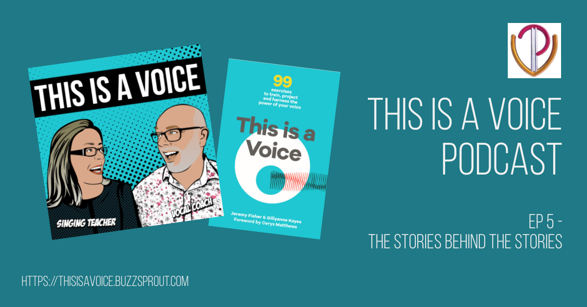 This is a Voice podcast episode 5 - The stories behind the stories